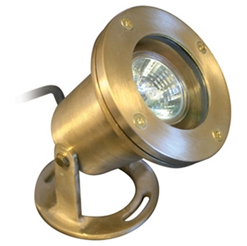 Picture of 20W Brass Underwater LED Pond Light
