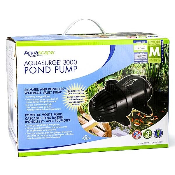 Aquascape Pump