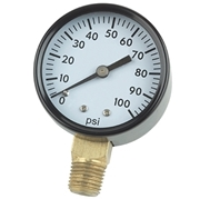 "Little Giant 1/4"" Pressure Gauge - Bottom Mount"