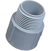 "Schedule 40 Male Adapter - 1 1/2"" Male x 2"" Slip"
