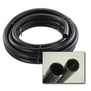 """Black PVC Hose - 3"""""""