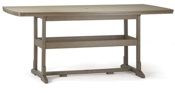 "Breezesta 21"" x 60"" Counter Terrace Table"