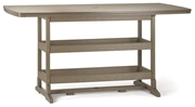 "Breezesta 21"" x 60"" Bar Height Terrace Table"