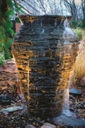 Aquascape Small Stacked Urn 32""