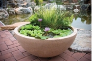 "Aquascape Aquatic Patio Pond- 24"" Desert Granite"