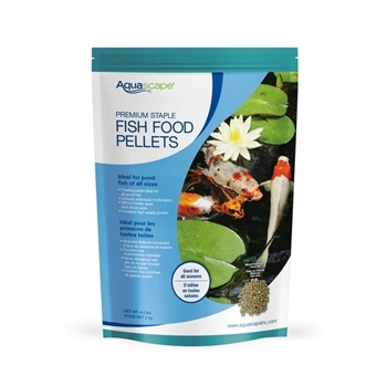 Aquascape Staple Fish Food- Mixed Pellets- 4.4 lbs