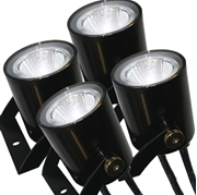 Kasco Marine WaterGlow 19W Stainless Steel LED 4-Light Kit