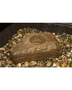 AquaBella Md Birdbath Boulder Fountain Kit