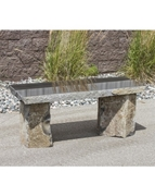AquaBella Polished Basalt Bench
