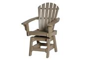 Breezesta Coastal Swivel Dining Chair