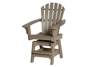 Breezesta Coastal Swivel Counter Chair