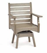 Breezesta Piedmont Swivel Rocker Dinning Chair