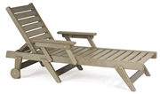 Breezesta Chaise Lounge Chair with Wheels