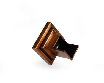 Atlantic Verona Wall Spout (Copper/Square Plate)