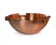 "Atlantic Copper Fountain Bowls - 26"" round w/6"" Spillways"