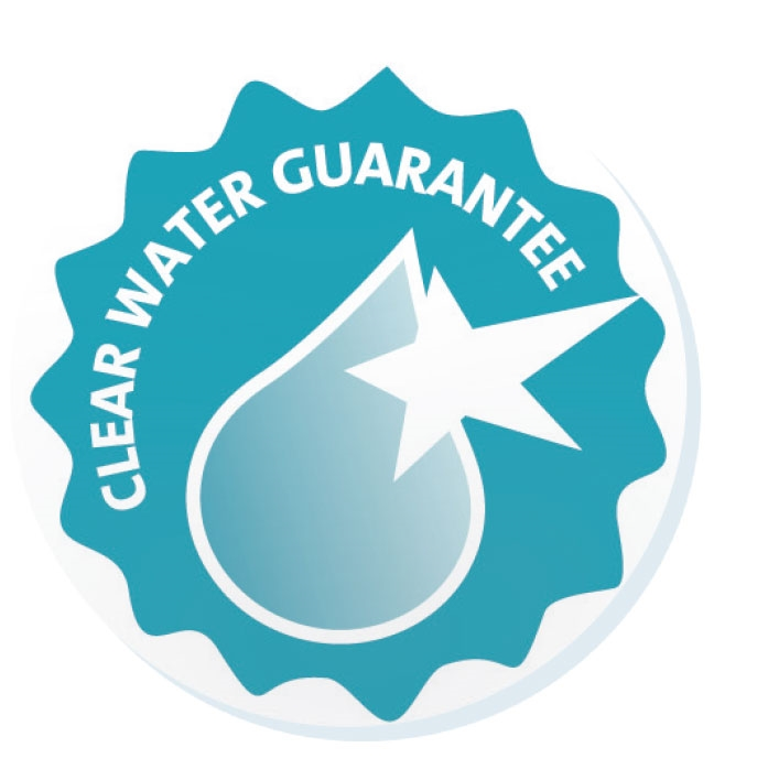 OASE Clear Water Guarantee Sizing Chart