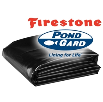 50' x 55' Firestone PondGard 45 mil EPDM Pond Liner