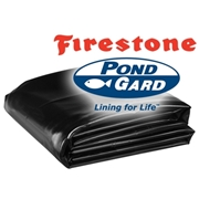 50' x 60' Firestone PondGard 45 mil EPDM Pond Liner