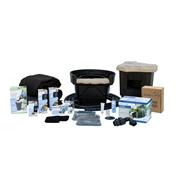 Aquascape Medium 11' x 16' Pond Kit w/ Tsurumi 3PL Pump
