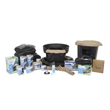 Aquascape Medium Deluxe 11' x 16' Pond Kit w/ AquaSurge Pro 2000-4000