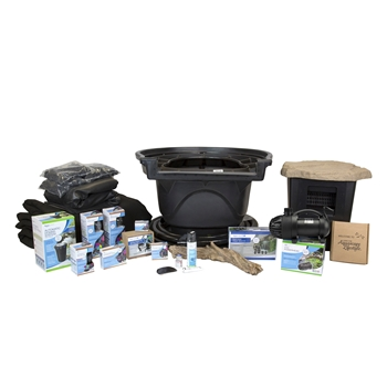 Aquascape Large Deluxe 21' x 26' Pond Kit - with AquaSurge Pro 4000-8000 Pump