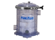 "PurFlo Strainer Basket - 2"" 500 ci- Clear"