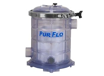 "PurFlo Strainer Basket - 2"" 500 ci- Clear"
