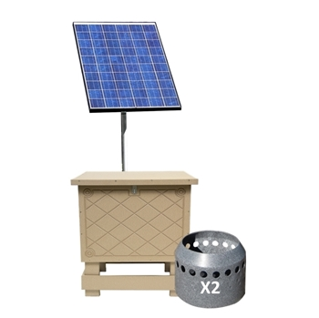 Solaer 1.2 Solar Lake Bed Aeration - 2 Duraplate Diffusers