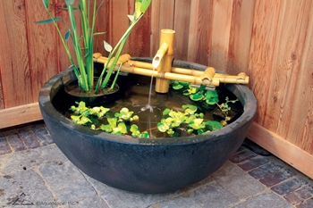 Aquascape Adjustable Pouring Bamboo Fountain