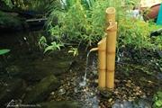 Aquascape Pouring 3-Tier Bamboo Fountain