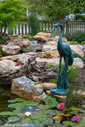 Aquascape Crane with Lowered Head Spitter